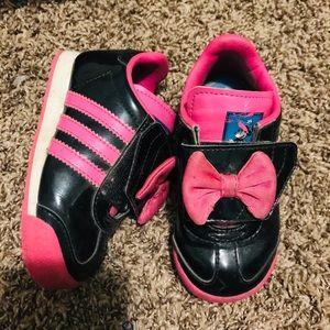 "Adidas ""Minnie"" shoes Size 6"